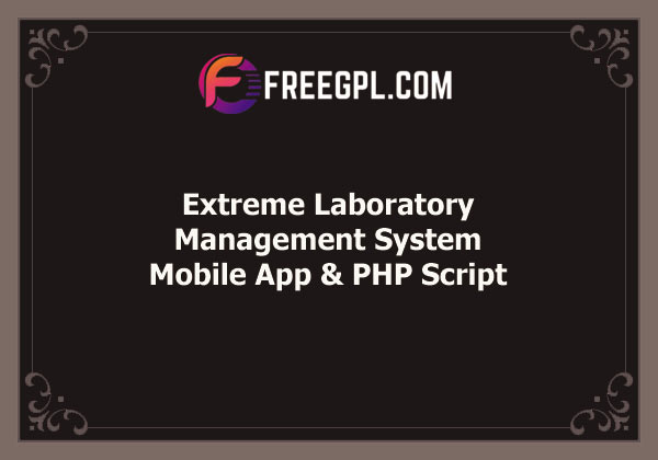 Extreme Laboratory Management System Free Download
