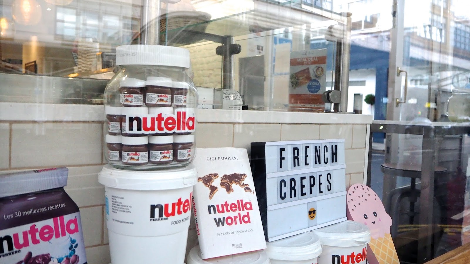 Nutella Display