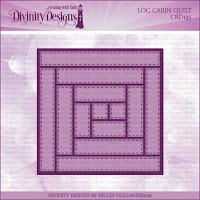 Divinity Designs LLC Custom Log Cabin Quilt Die