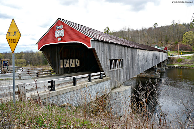 Bath Covered Bridge en New Hampshire