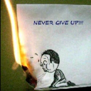Gambar DP BBM Kata Kata Pantang Menyerah