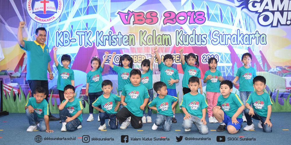 VBS 2018 KB-TK Kristen Kalam Kudus Hari Pertama: Game On!