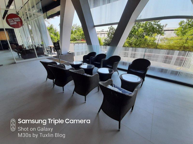 Hasil Foto Kamera Ultra Wide Angle Samsung Galaxy M30s