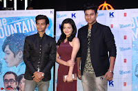 Gracy Singh and Bappi Lahiri   Blue Mountain Music Launch IMG 0602.JPG