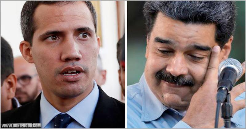 Régimen de Maduro hace un acuerdo con Juan Guaidó para combatir el virus