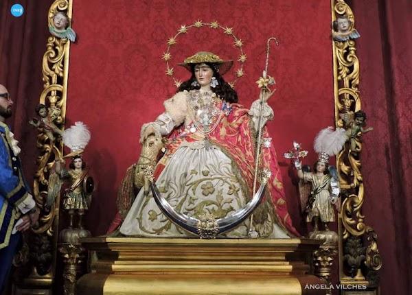 El rey Felipe VI como hermano mayor honorario de la Pastora de Santa Marina