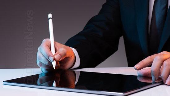 camara aprova assinatura eletronica documentos publicos