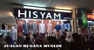 Jualan busana muslim laris manis di bulan ramdahan