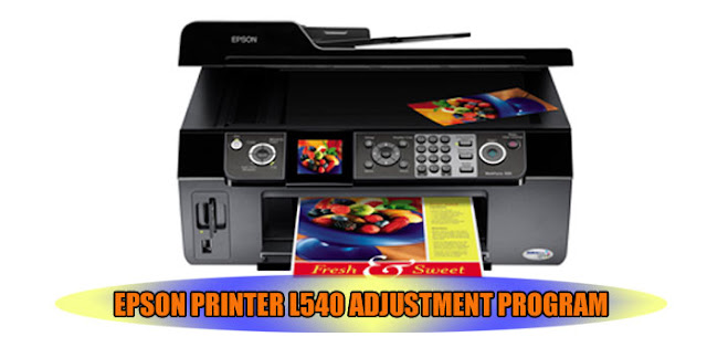 EPSON L540 PRINTER ADJUSTMENT PROGRAM