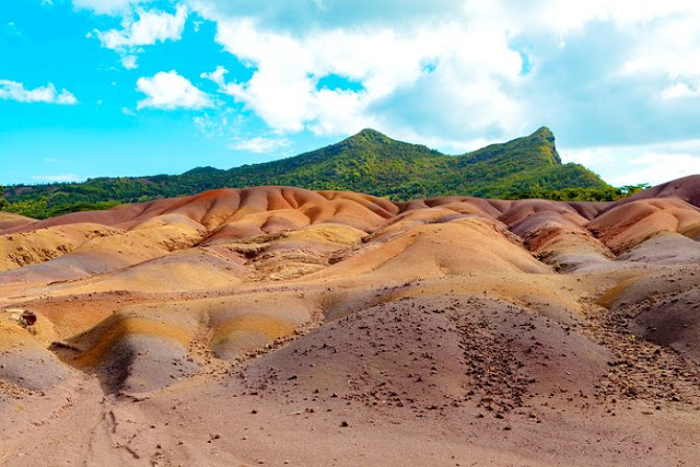Seven Coloured Earths of Chamarel - Mauritius