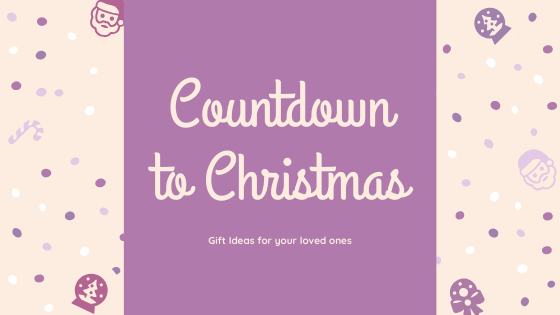 Countdown to Christmas - The best personalised gift ideas