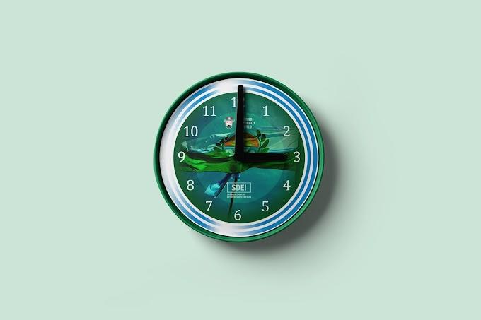 Reloj para la Subsecretaría de Entidades Intermedias