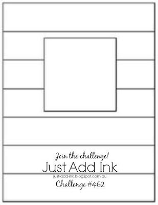 Jo's Stamping Spot - Just Add Ink Challenge #462