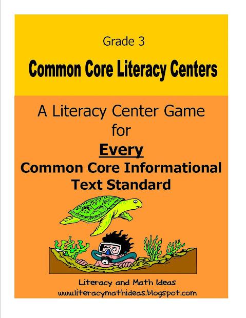 3rd Grade Reading Common Core Standards
