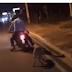 Le presento el video de los hombres arrastrando el perro