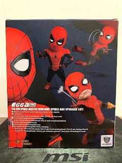 EGG ATTACK ACTION EAA-099 蜘蛛人 離家日 蜘蛛人 升級戰衣 包裝盒