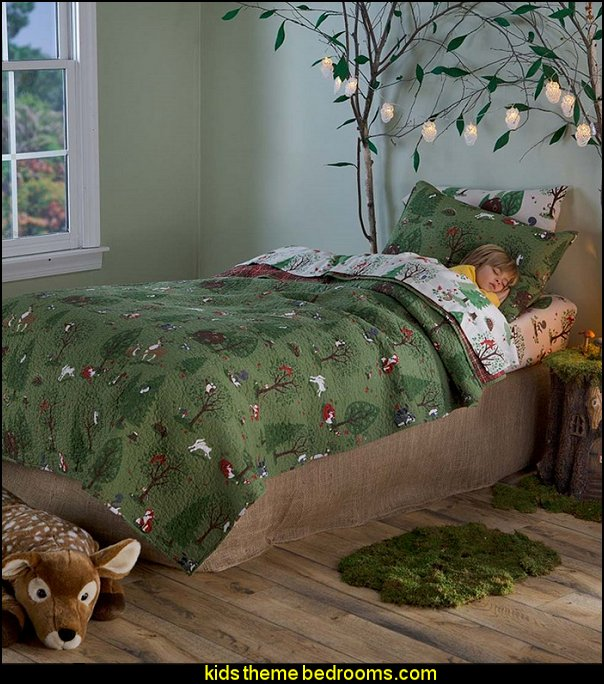 Woodland Friends Bedding