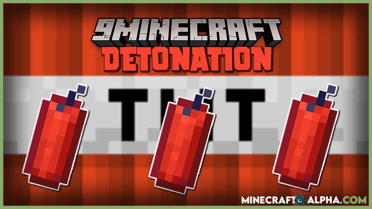 Detonation Mod For 1.16.5 (TNT, Explosion)