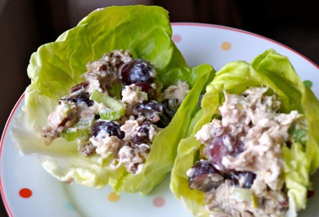 Pecan Chicken Salad #healthy #salad