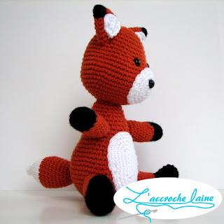 L'accroche laine - Renard
