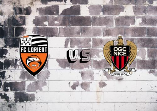 Lorient vs Niza  Resumen