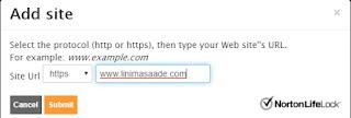 Cara verifikasi Blog Dengan Norton Safe Web