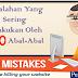 Kesalahan Yang Sering Dilakukan Oleh SEO Abal-Abal