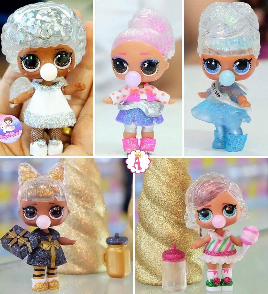 Куклы из снежного шара Лол Сюрприз Glitter Globe