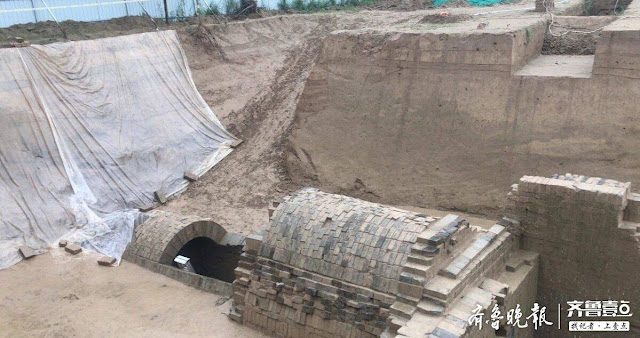 Han Dynasty tombs discovered in east China
