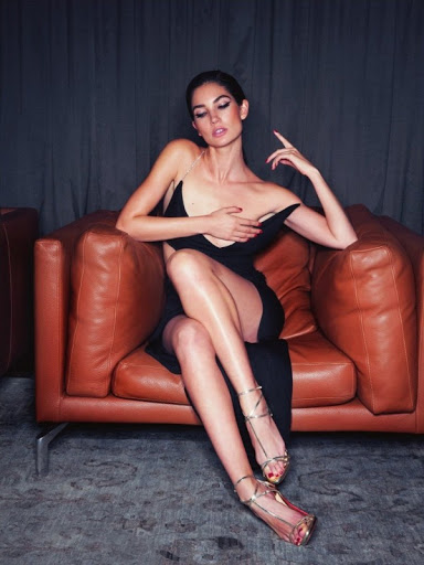 lily aldridge hot photo shoot lui magazine