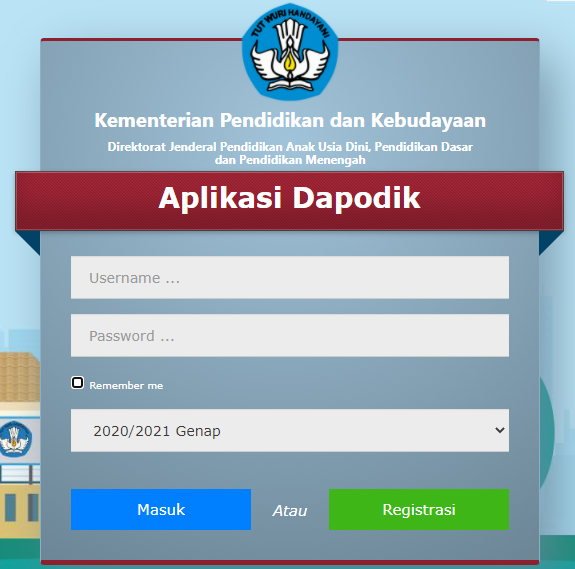 Dapodikonline.com berisi panduan atau tutorial pengerjaan aplikasi dapodik paud, sd, smp, sma, smk yang dibuat berdasarkan pengalaman admin sebagai operator dapodik sekolah. Panduan Aplikasi Dapodik Versi 2021 C Semester Ii Genap Tahun Ajaran 2020 2021 Salam Edukasi