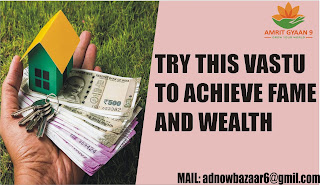TRY THIS VASTU TO ACHIEVE FAME AND WEALTH