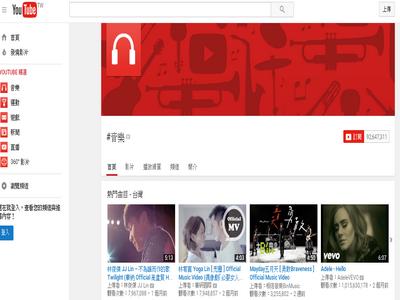 youtube台灣中文版