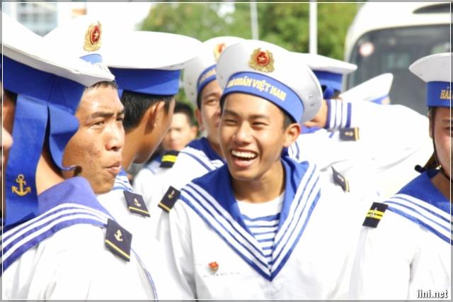 Nụ cười của người lính Hải quân Việt Nam