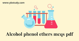 Alcohol phenol ethers mcqs pdf for class 12th
