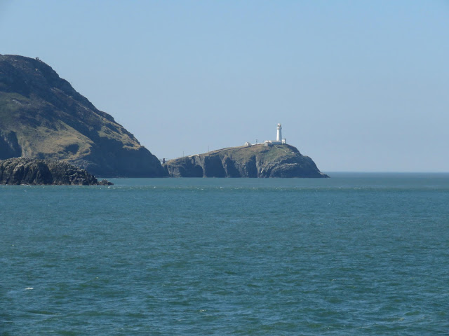 Lighthouse en route from Dublin to Holyhead Port on the HSC Jonathan Swift