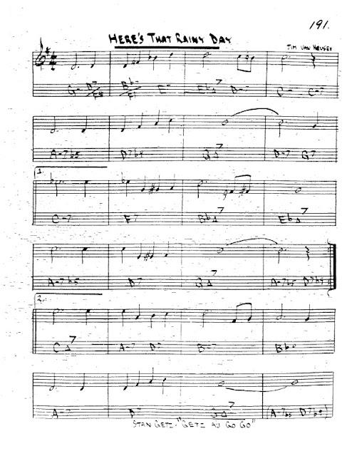 Partitura Trompeta Jim Van Heusen