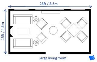 Berbagai Ukuran Ruang Tamu untuk Setiap Rumah
