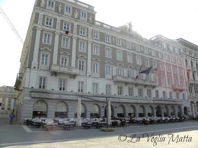 Caffè degli Specchi a Trieste