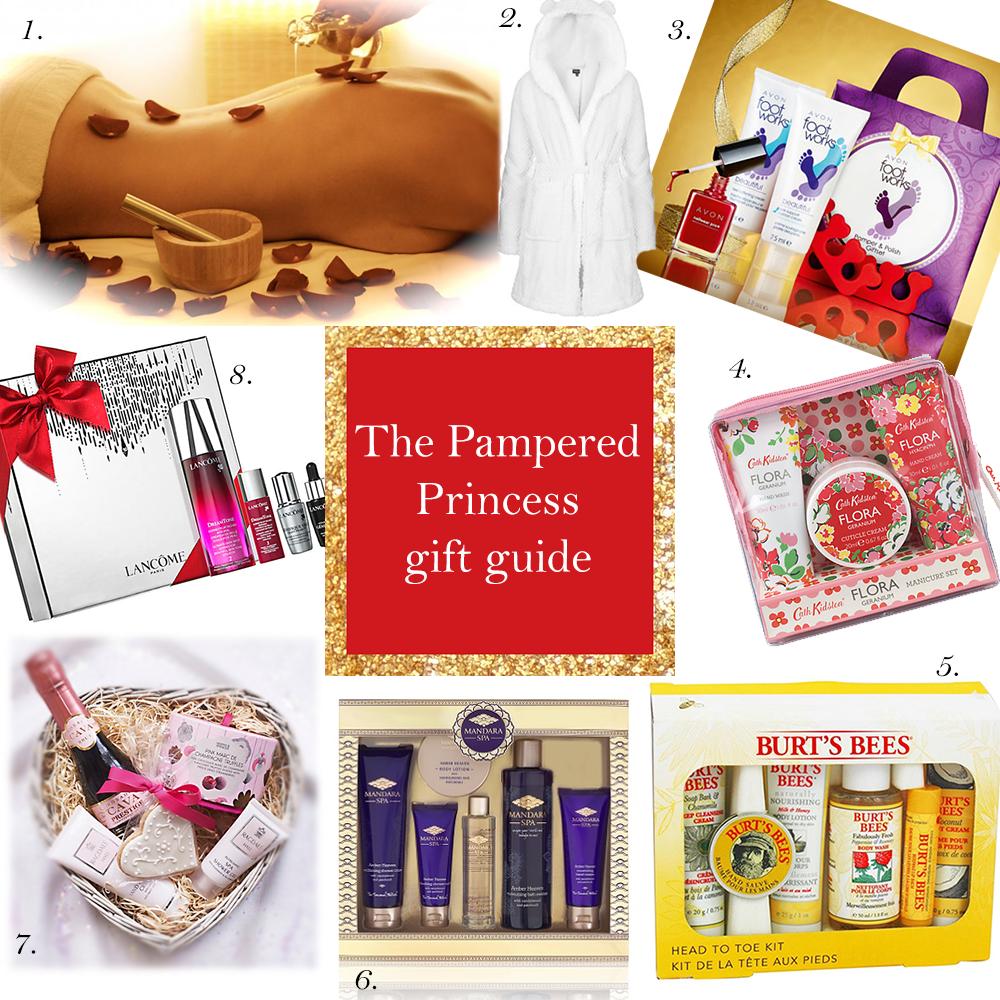 The Pampered Princess Christmas Gift Guide | Christmas present ideas for Mum | Sister | Best Friend | Auntie | Girlfriend | Spa Treats