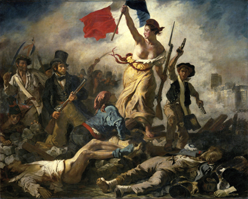 La-libertad-guiando-al-pueblo-Eugène-Delacroix-La-Liberté-guidant-le-peuple-Museo-del-Louvre