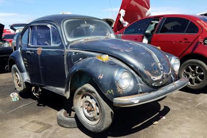 Junkyard Jewel: 1971 Volkswagen Overly Scarab