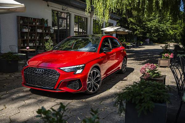 Audi A3 Sportback ganha o Golden Steering Wheel 2020
