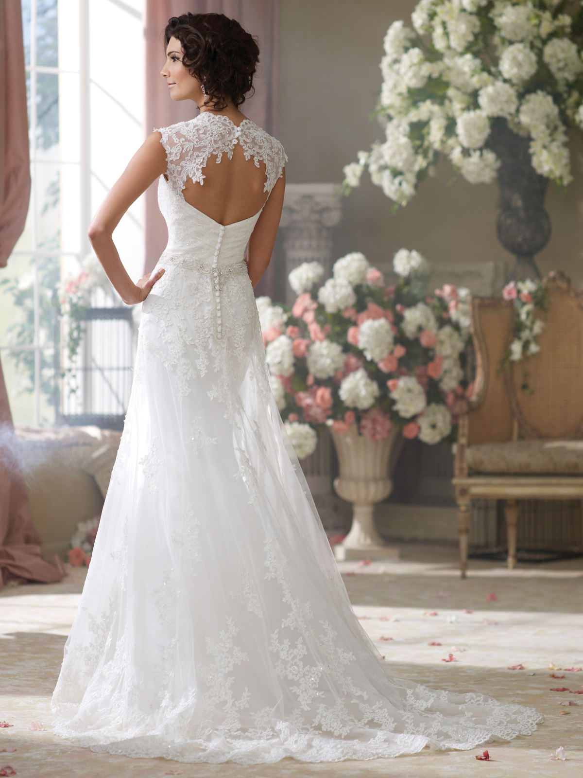 Wedding Dresses With Beautiful Back Detail