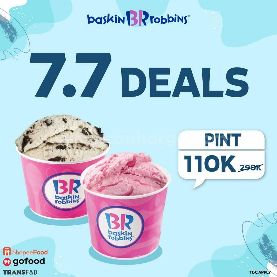 Baskin Robbins Promo Super Deal 7.7 2