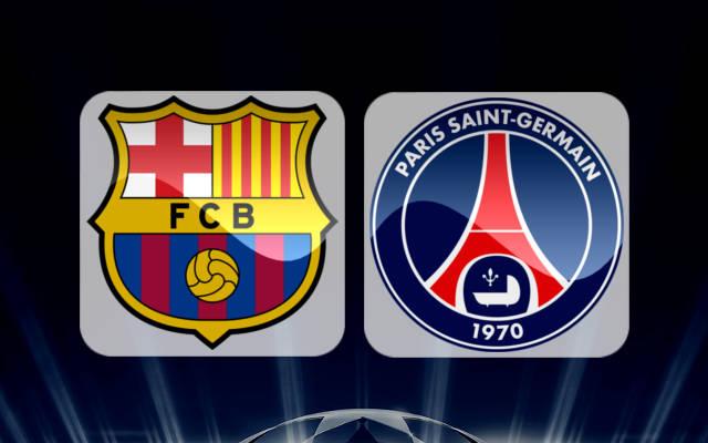 معلق مباراة برشلونة وباريس سان جيرمان اليوم في دوري أبطال أوروبا والقنوات الناقلة