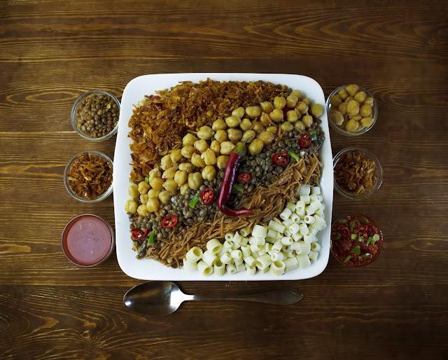 Koshary - Egypt's national dish
