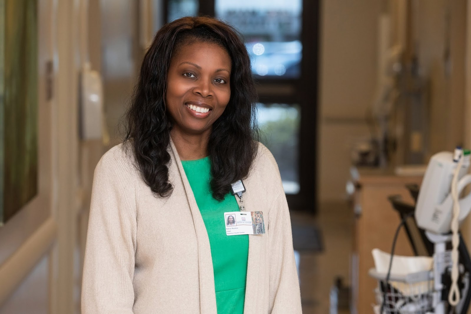 Med School Watercooler: Nurse practitioner Nakia Rankin