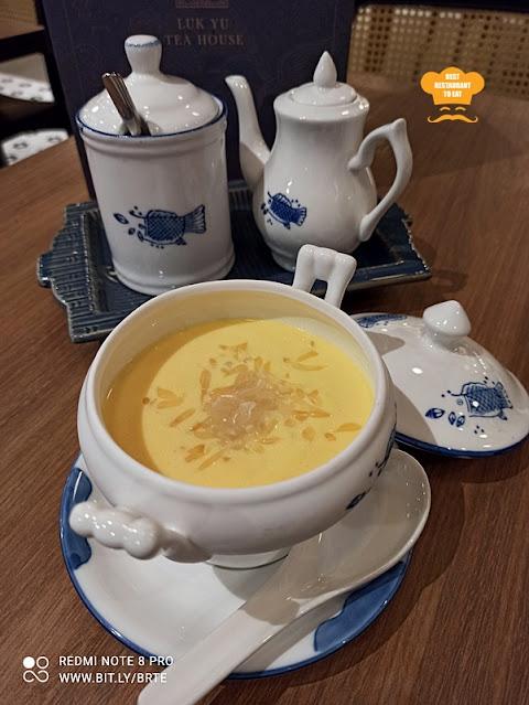 Dessert Menu - Luscious Chilled Cream of Fresh Mango With Sago and Pomelo 楊枝金露