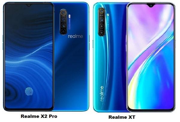 Realme X2 Pro Vs Realme XT Specs Comparison